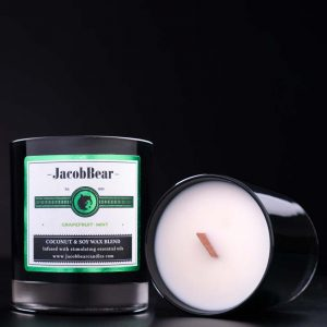 Grapefruit & Mint Scented candle 10 oz